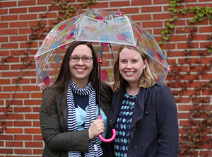 We are Jen and Lauren. We're sisters who live in the beautiful Pacific Northwest. It rains a lot here. Luckily, the rain gives us a reason to stay inside and be crafty!  Contact us at  yayhoorayforrain@gmail.com