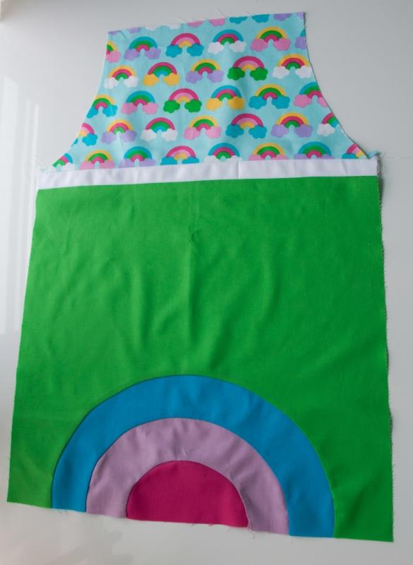 Hooray for Rain - Wonder Rainbows and Pieced Curves