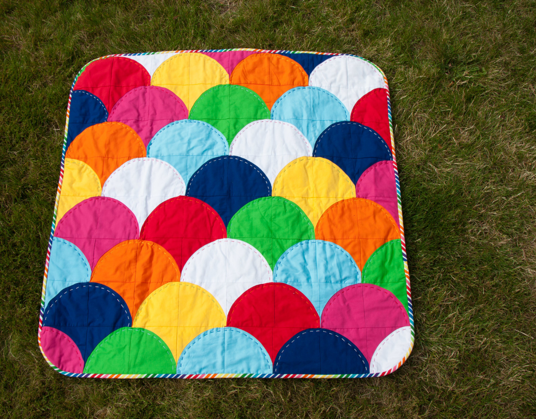 Hooay For Rain - Ample Curves Quilt