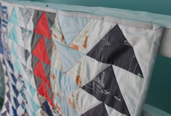 Hooray for Rain - Flying Geese Quilt