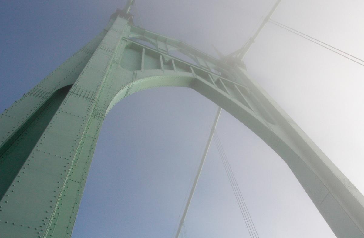 St. Johns Bridge - Hooray for Rain