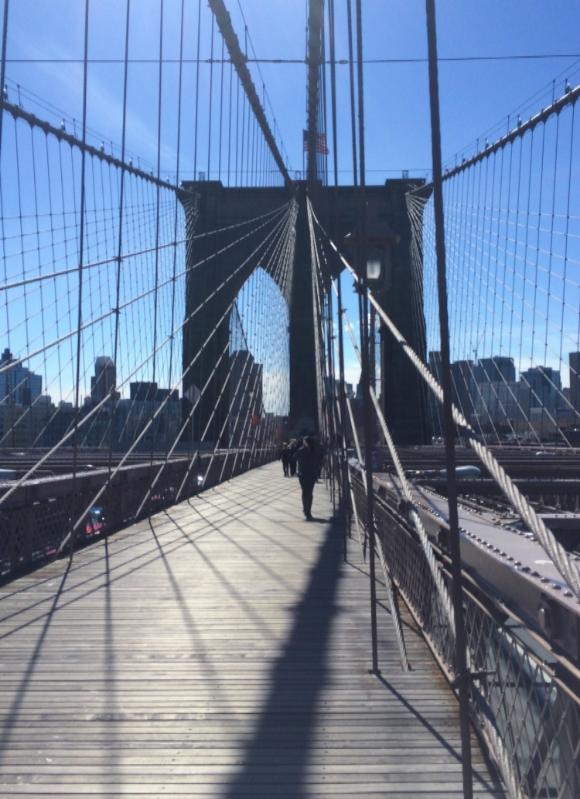 Brooklyn Bridge - www.hoorayforrain.com