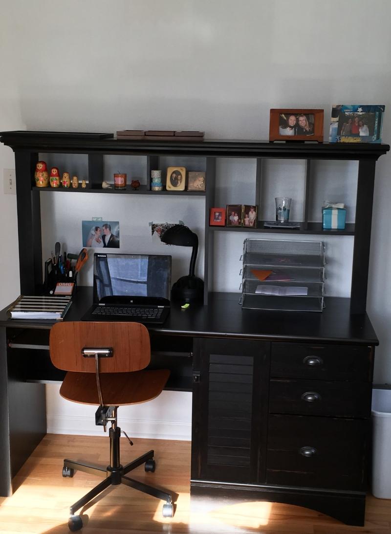 Guest Room Mini Makeover - www.hoorayforrain.com