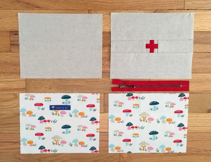First Aid Kit Pouch - www.hoorayforrain.com
