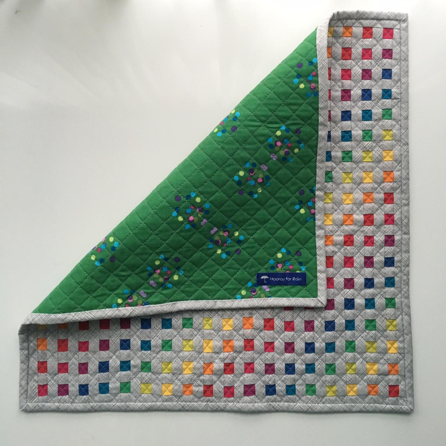 Hooray for Rain - Rainbow Mini Quilt Swap