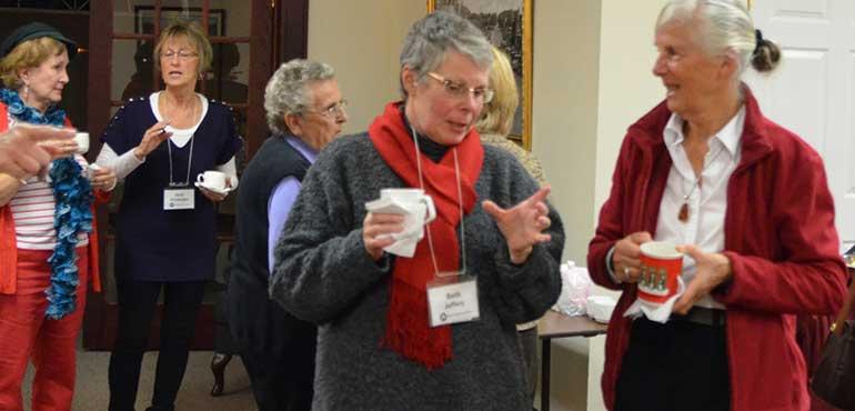 CFUW members at AGM 2014   Waterloo, Ontario