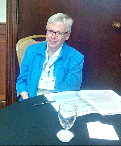 Sandy Millen, President UWC of Winnipeg 2013-2015