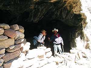 Exploring a Raramuri Cave