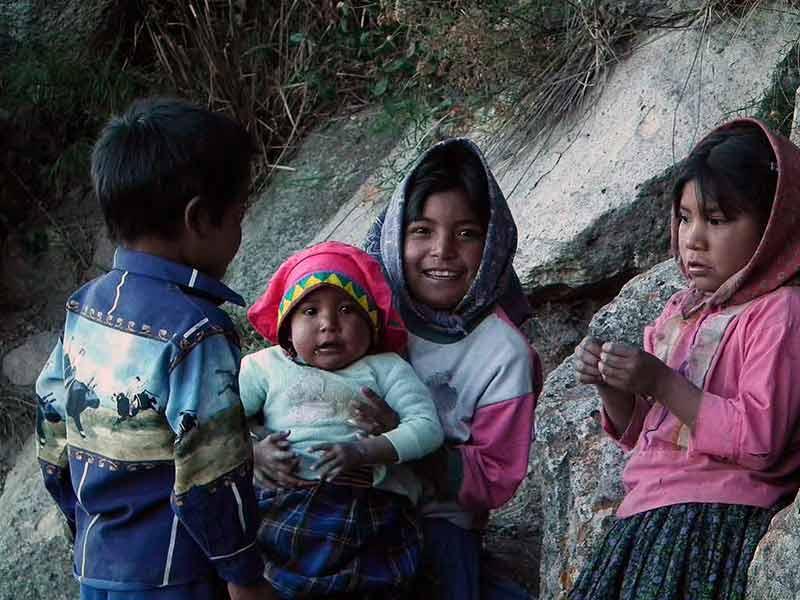 Raramuri children