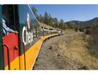 The Chihuahua Al Pacifico (CHEPE) Train
