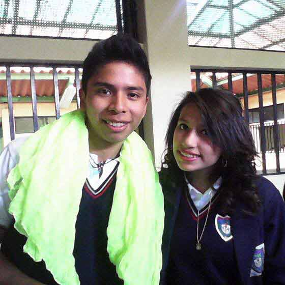 Christian and Friend from School