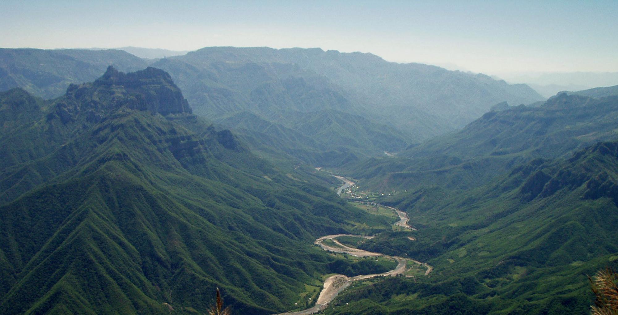 The overlook at Cerro Gallegos