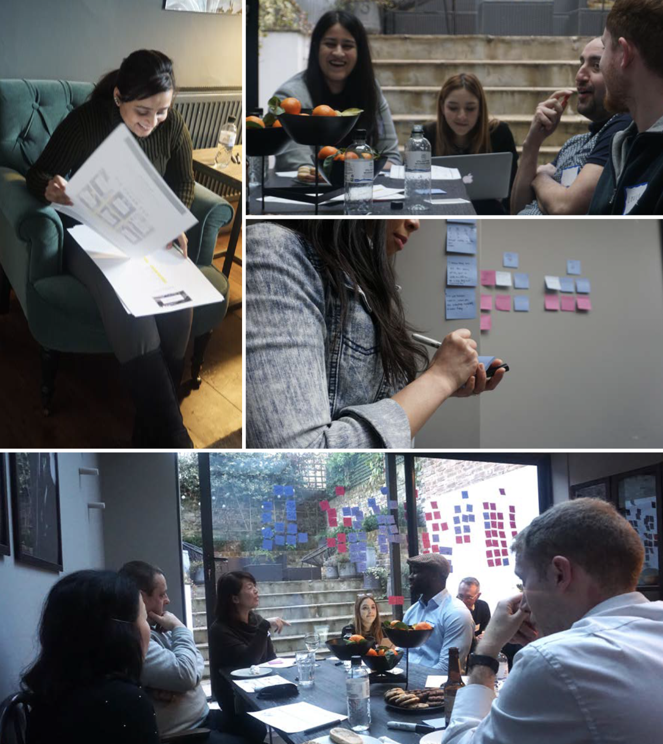 User Testing & Co-creation - I participated in and designed mockups and worksheets for user testing sessions that our team conducted. These sessions allowed us to walk through the user flows and features of our website and products.