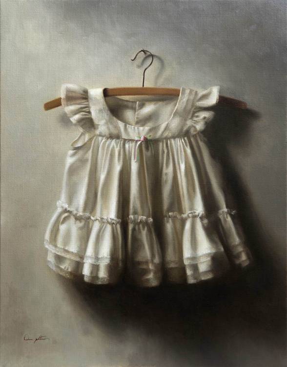 "Title:  Gaya     Artist:   Dana Zaltzman    Medium:   Oil on Linen    Dimensions:   28"" x 22"""