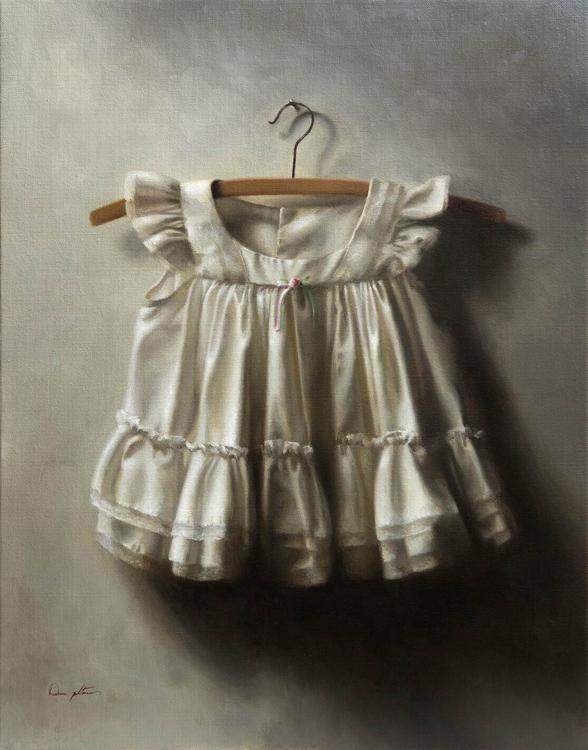 "Title:  Gaya     Artist:  Dana Zaltzman    Medium:  Oil on Linen    Dimensions:  28"" x 22"""