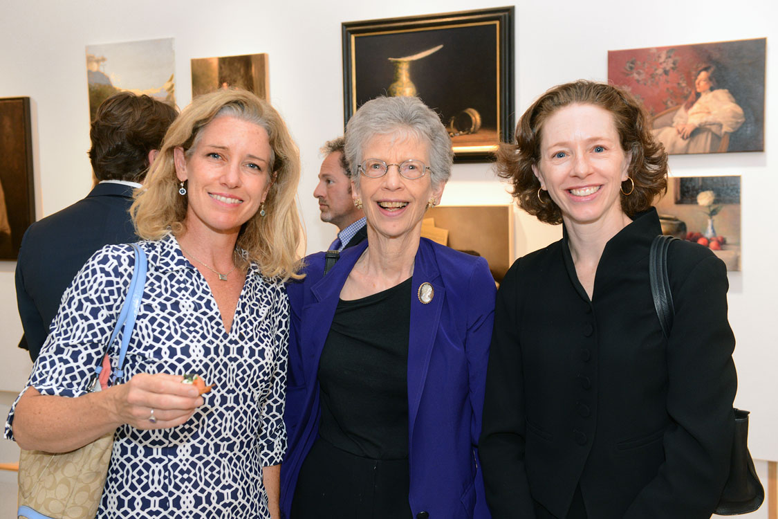 From left: Laura Grenning, Eleanor Shakin & Hilary Alger    Photo By: Zbig Jedrus