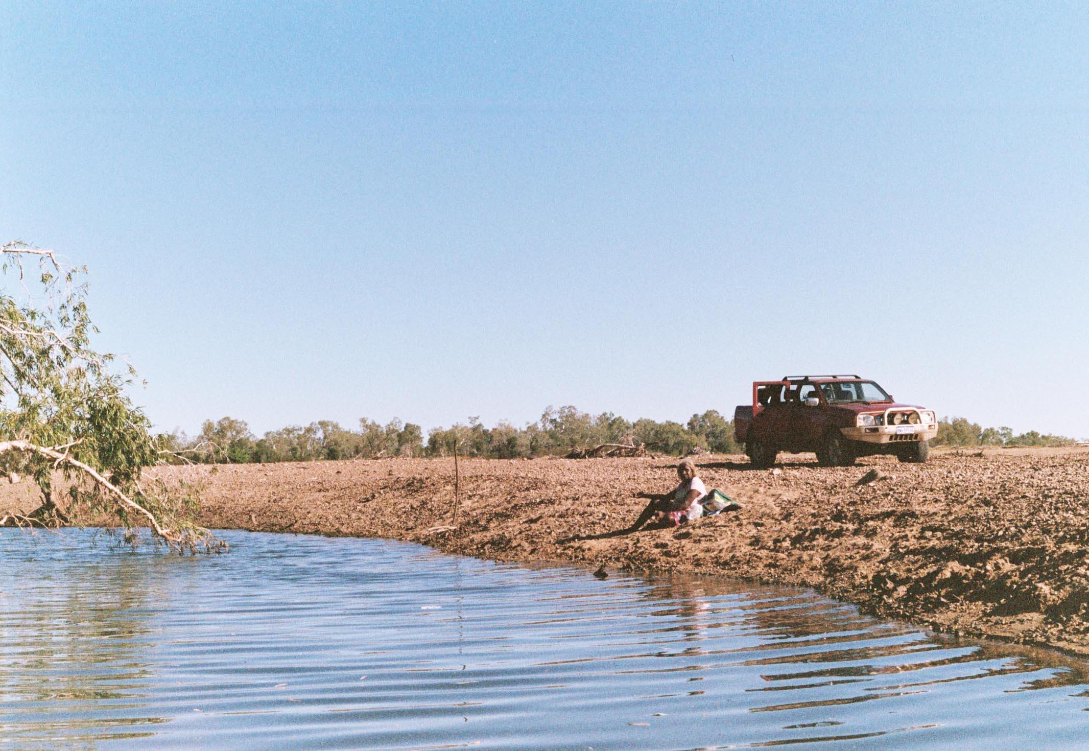 Nita Fishing, Fitzroy River, WA