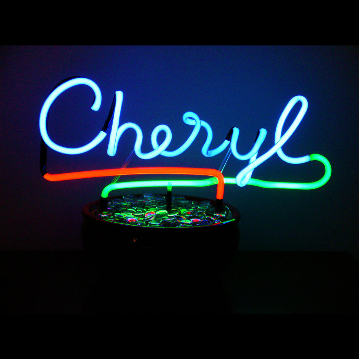 Accent your Interior with Your Name in Custom Neon!