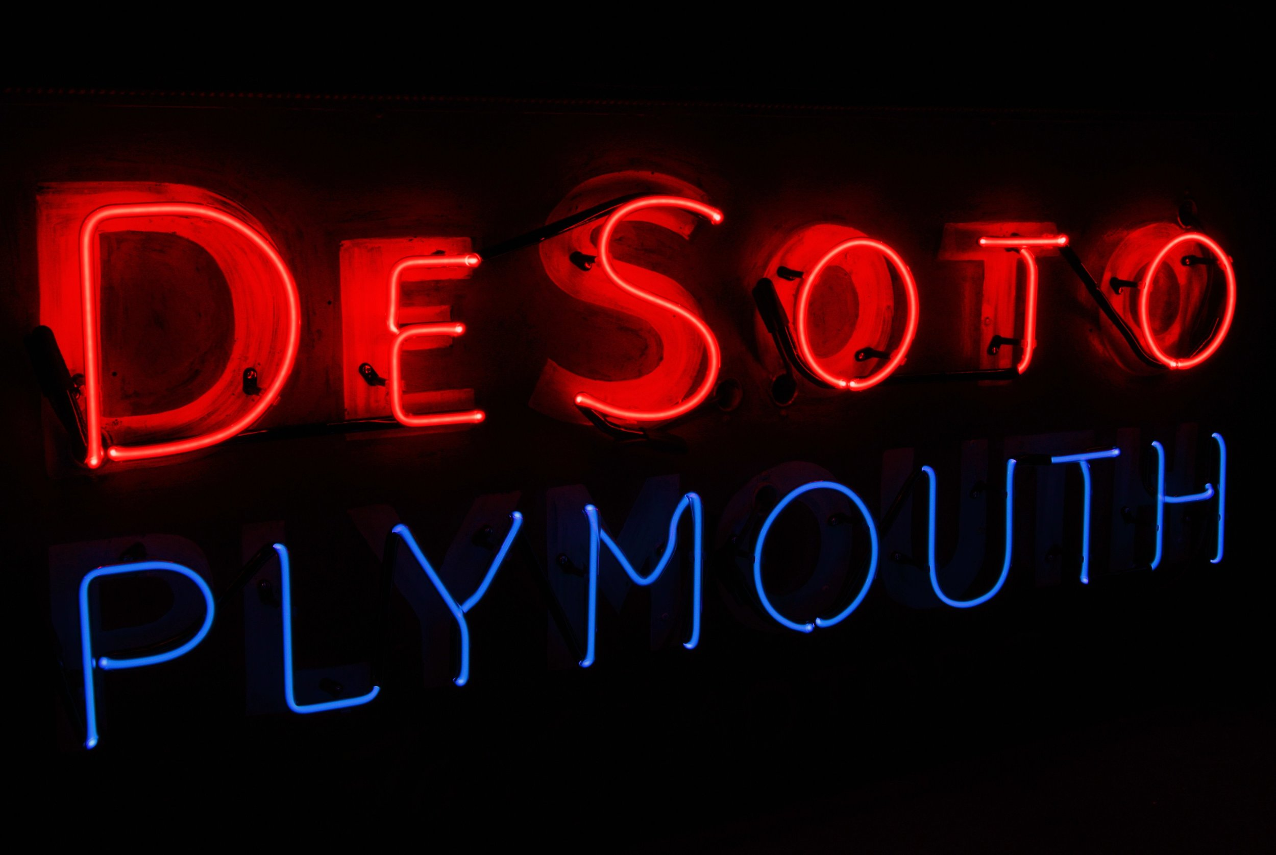 DeSoto Plymouth Neon Sign Restoration.jpg