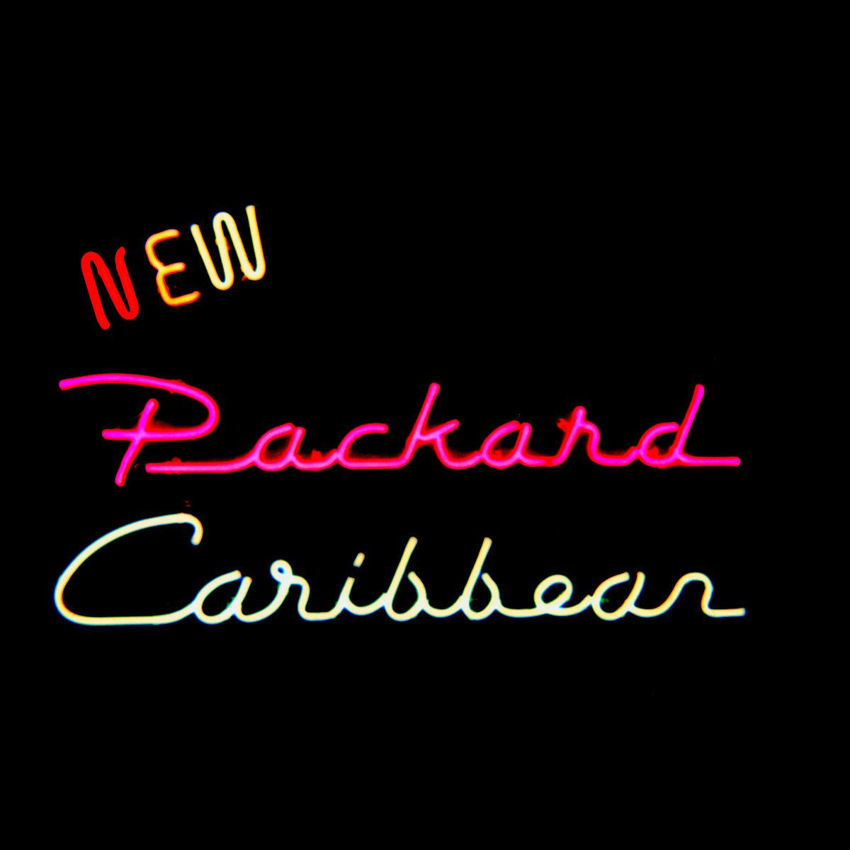 Packard original script neon dealership signs by former Packard Dealer - John Barton