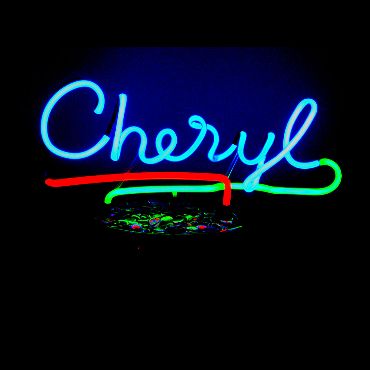 Your Name Up In Custom Neon Lights! - John Barton - Famous USA Neon Light Sculptor
