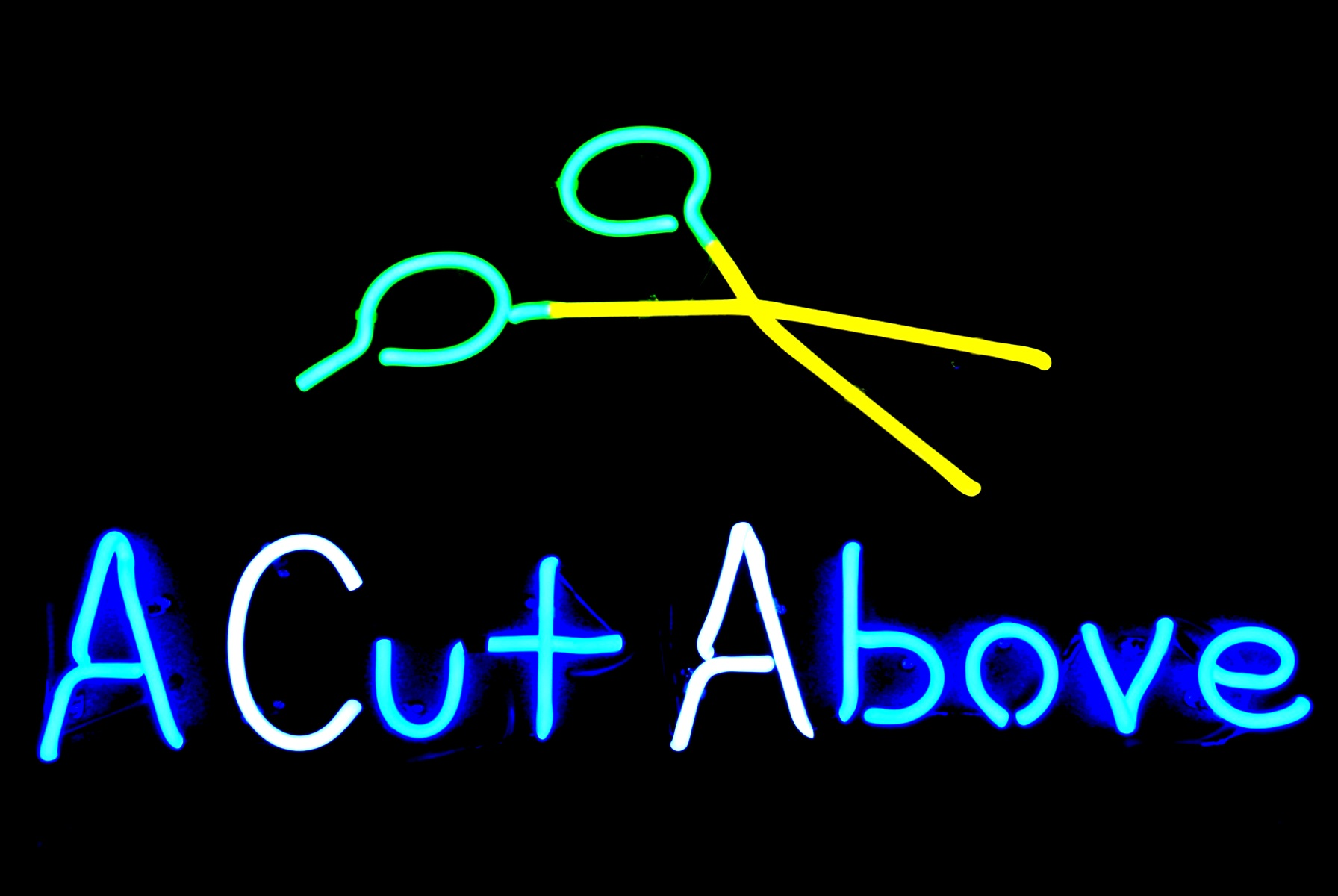 A Cut Above - Commercial Neon Sign.jpg