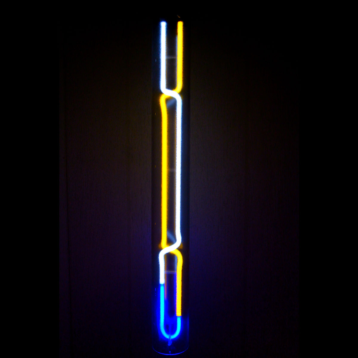 Norma Over Paris Neon Light Cylinders - ELEGANT MOOD LIGHTING by John Barton - BartonNeonMagic.com