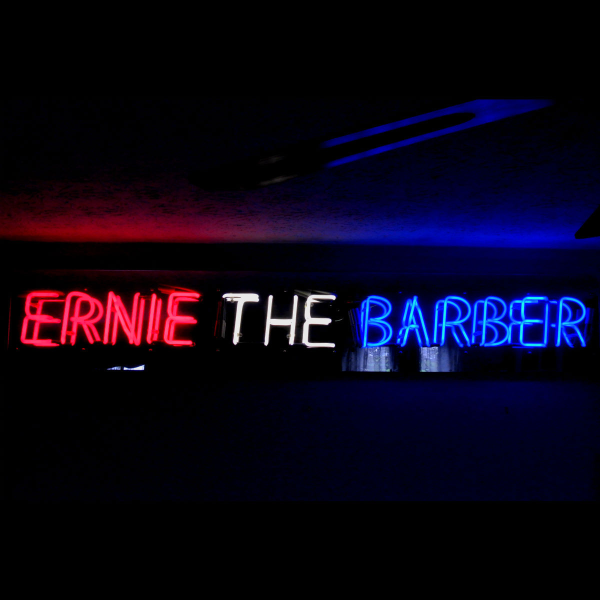 BARBER SHOP CUSTOM NEON SIGNS by John Barton - BartonNeonMagic.com