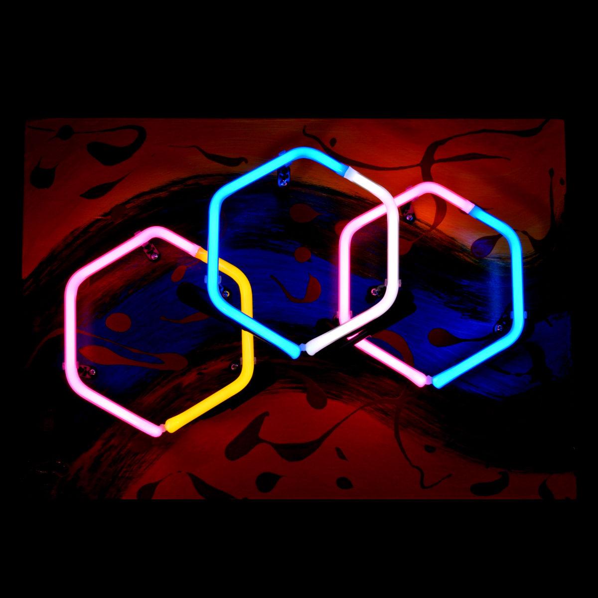 Parisian Neon Light Sculpture by John Barton - BartonNeonMagic.com