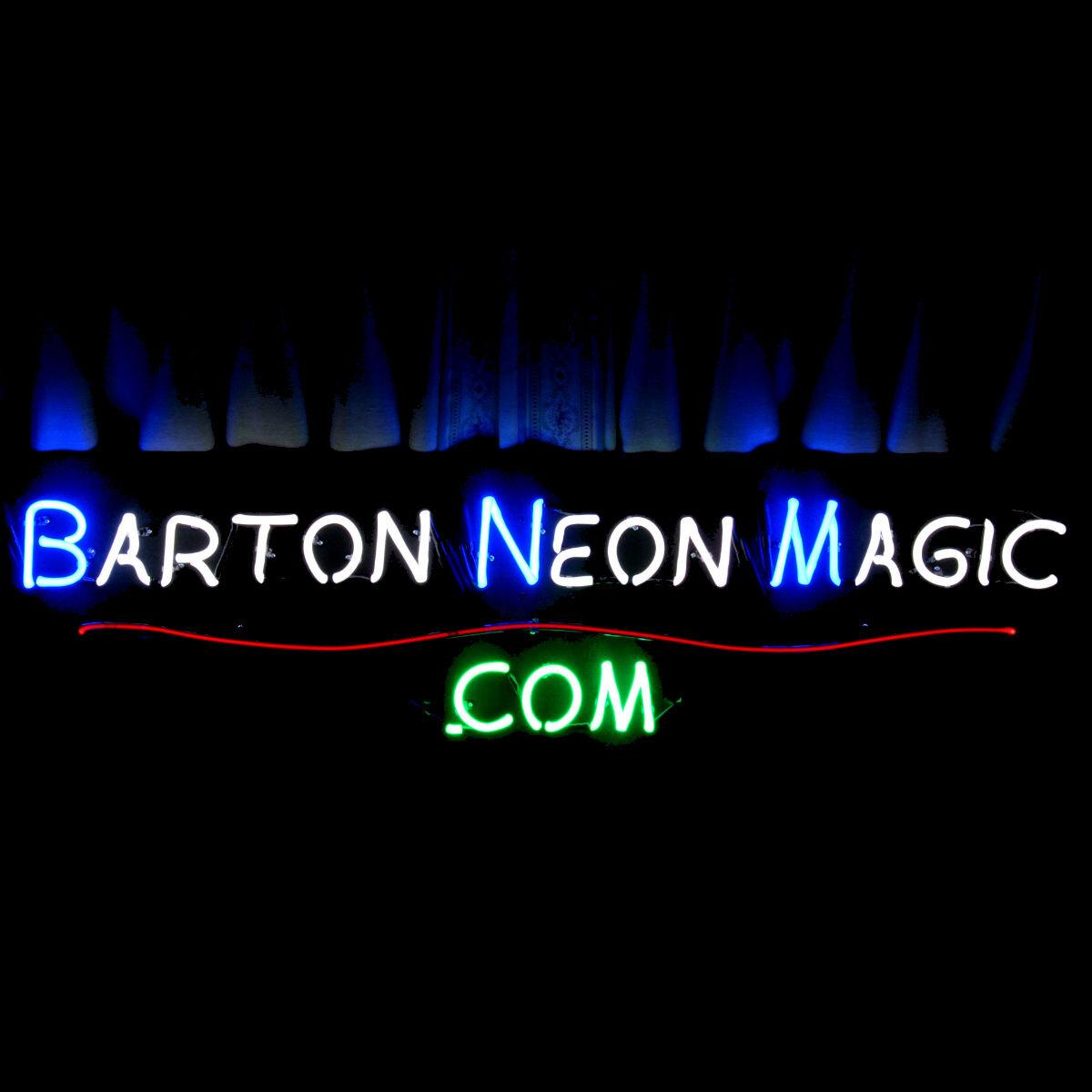 Designer CAT NEON LIGHT ARTWORK by John Barton - BartonNeonMagic.com