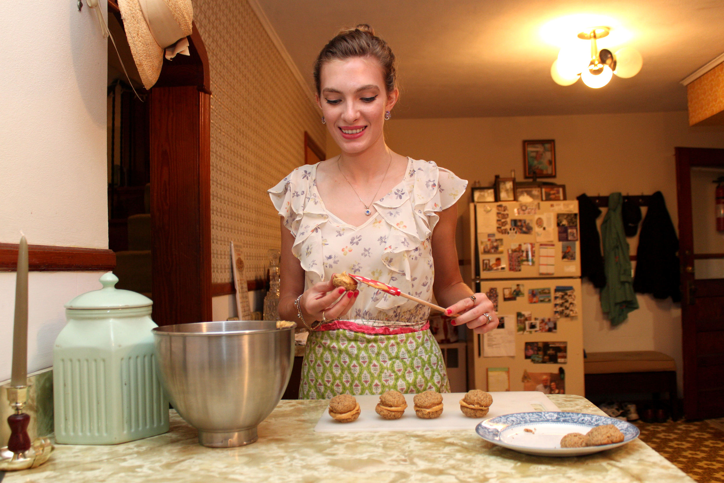 Step 5 Oatmeal Pumpkin Creme Pies