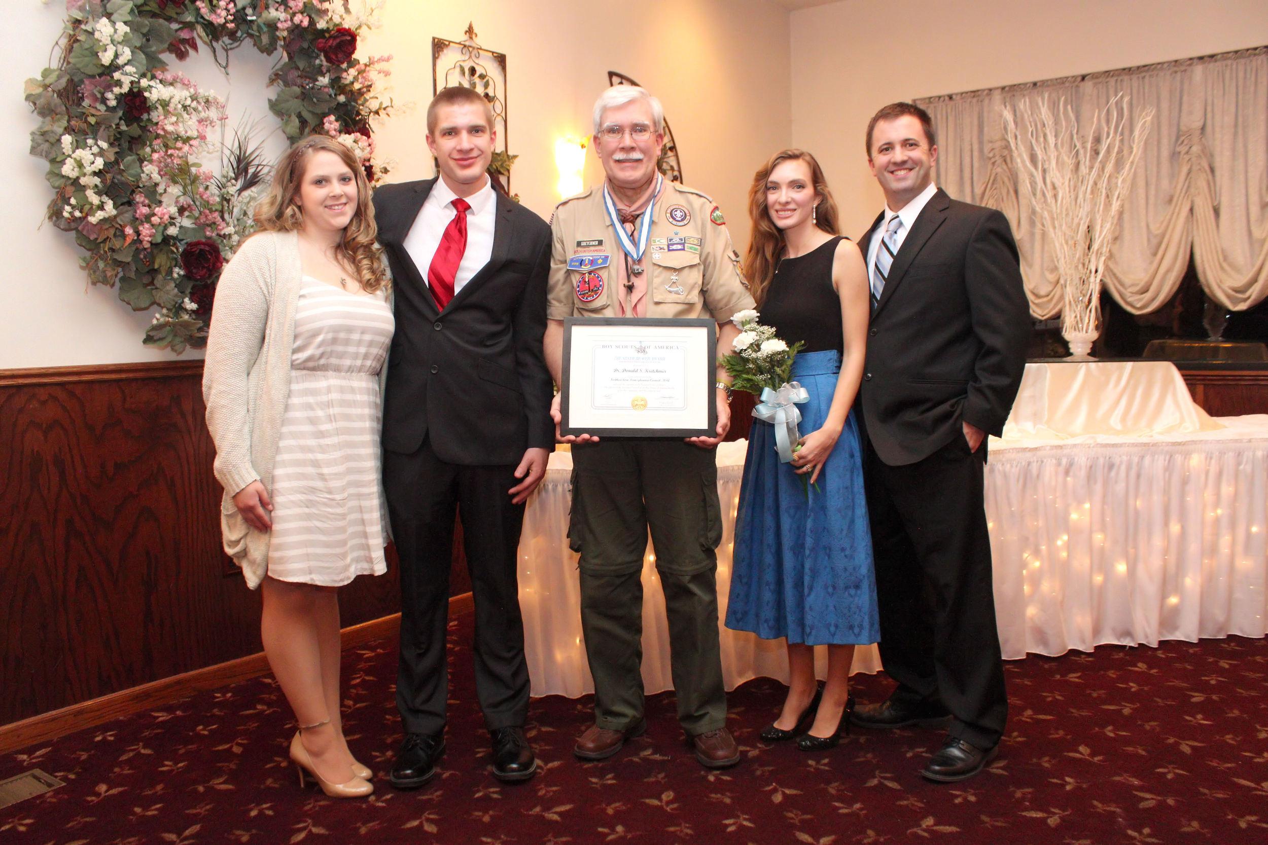the silver beaver award