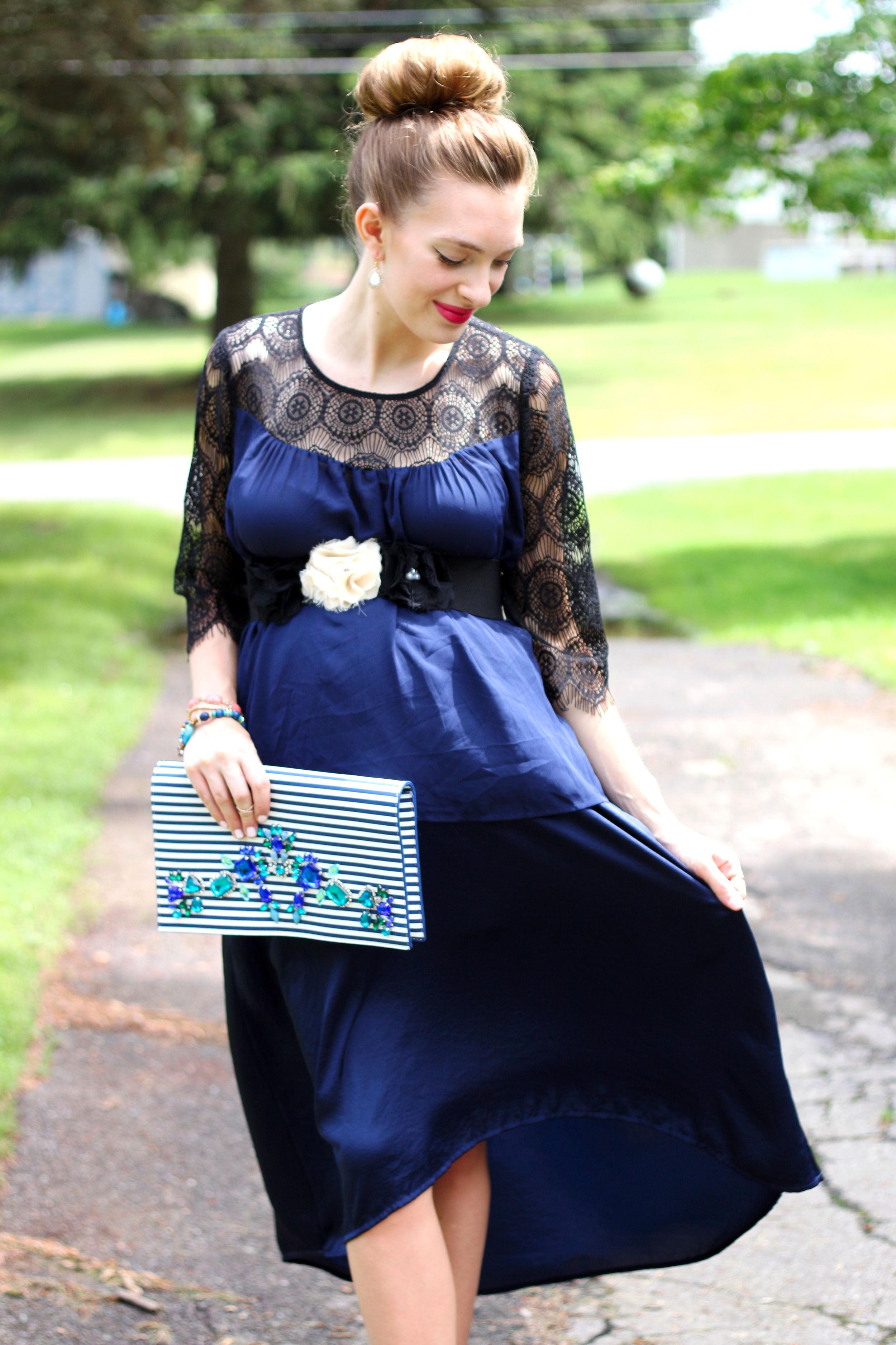 Blue Lace- Enchanting Elegance