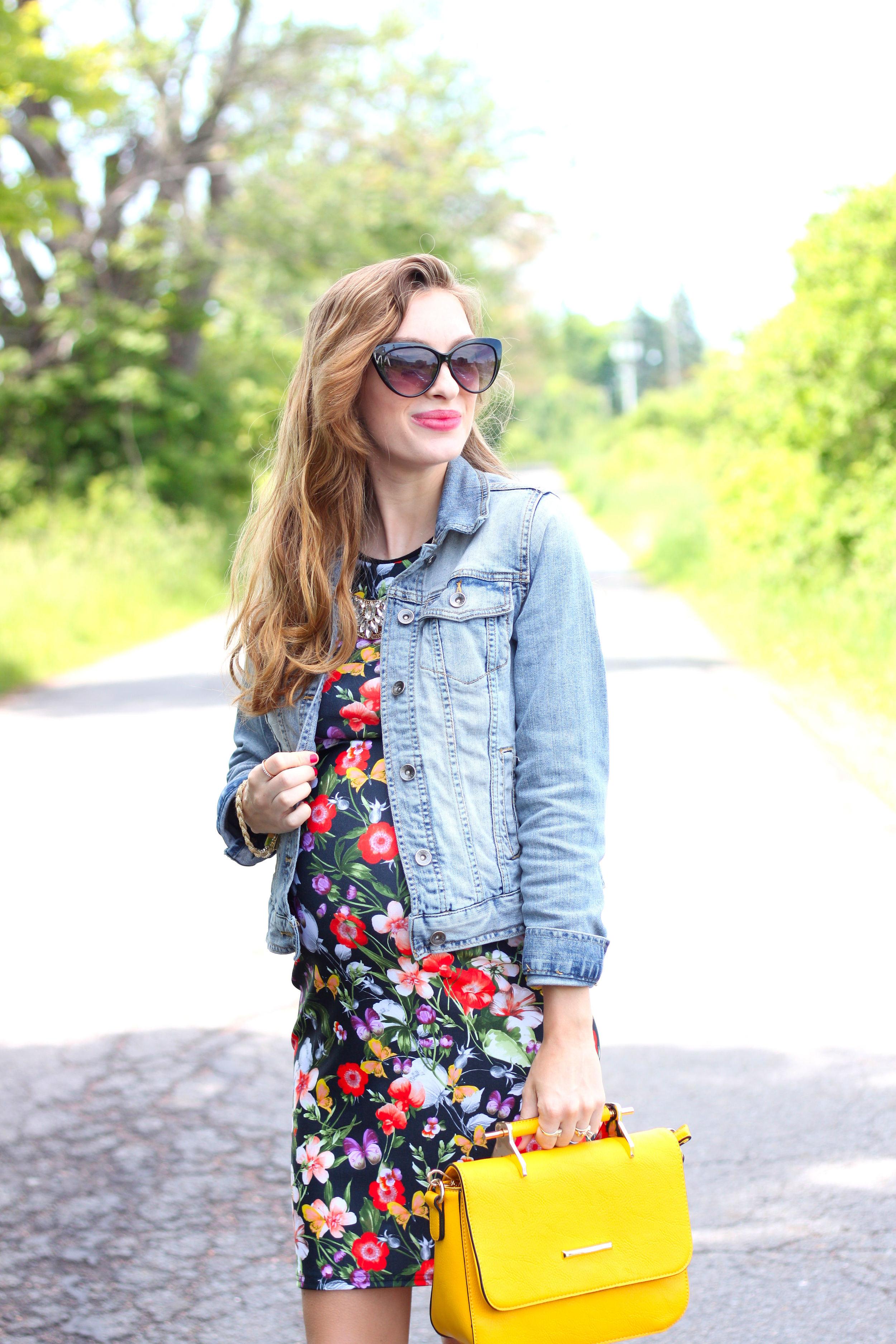 Dark Floral- Enchanting Elegance