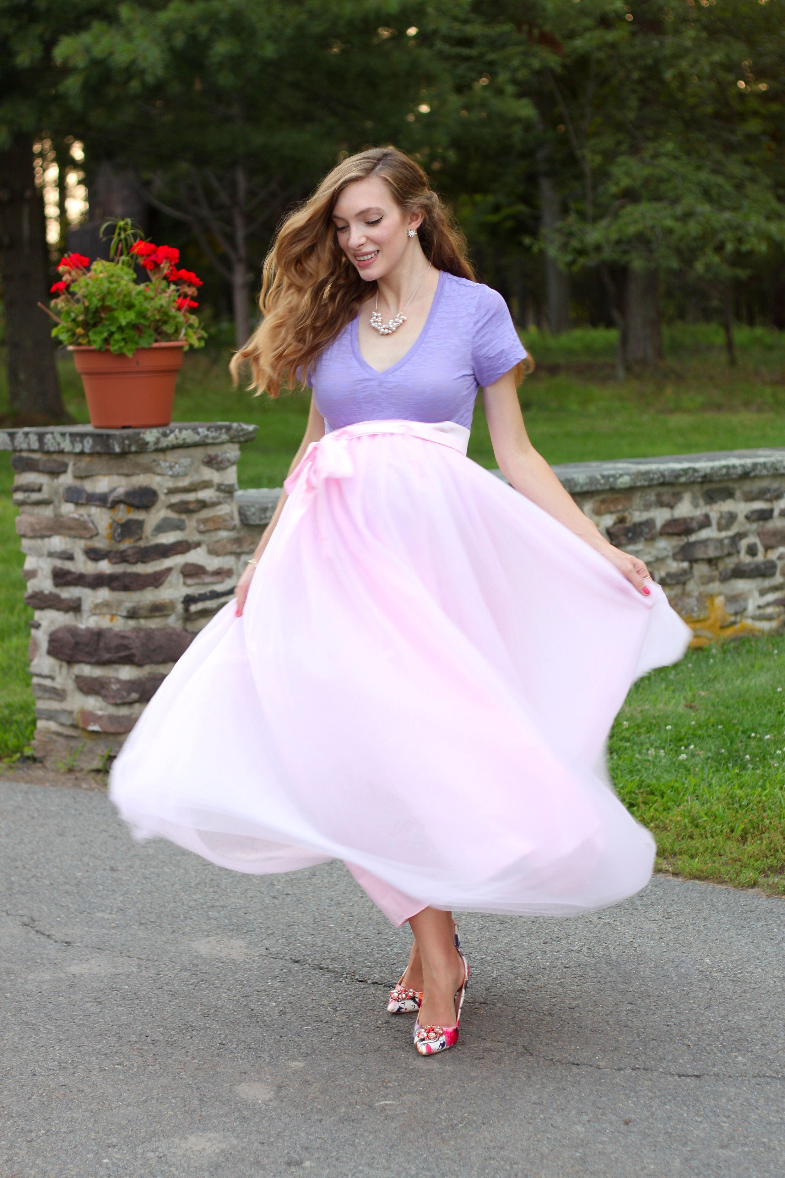 Tulle Skirt- Enchanting Elegance