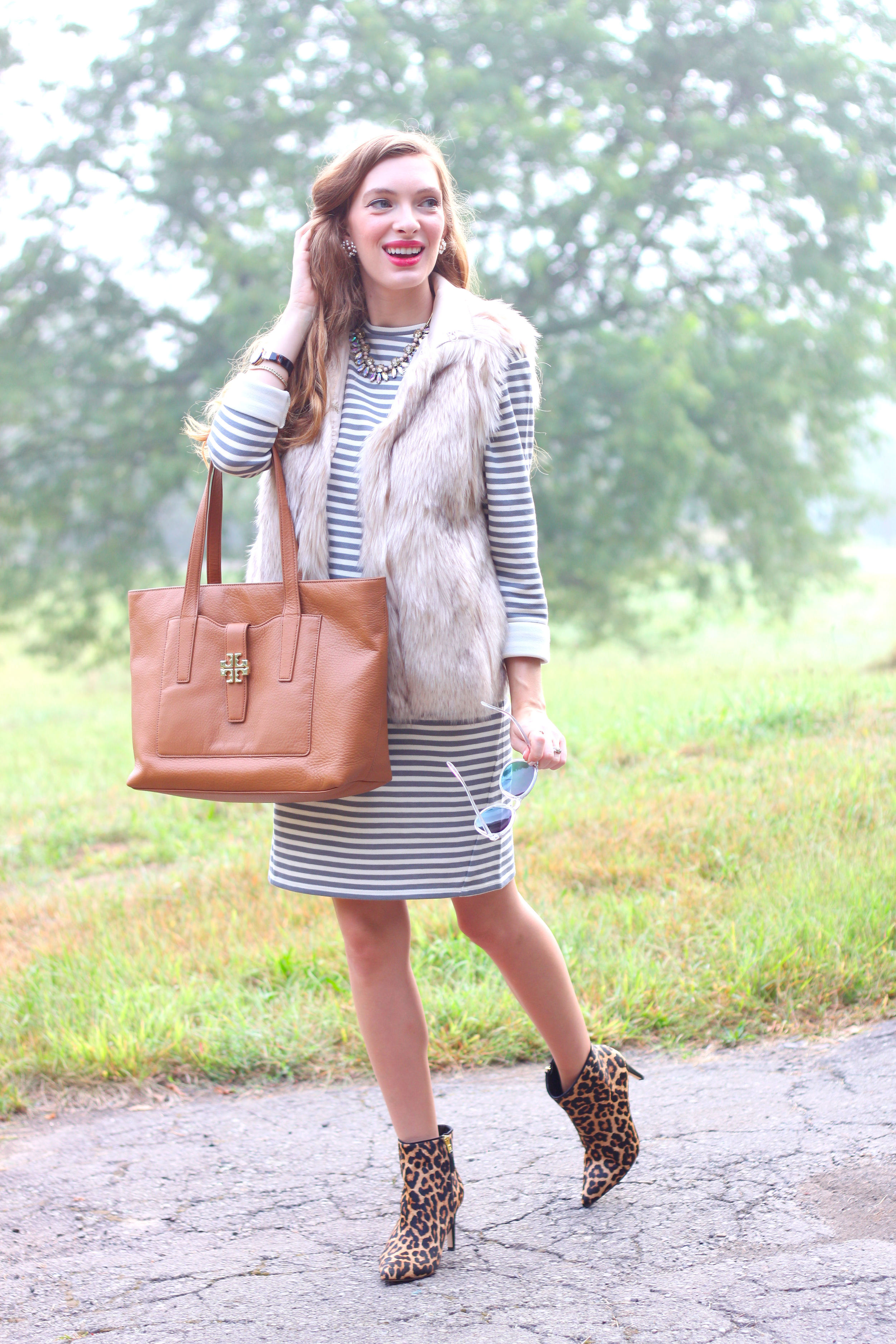 Leopard and Stripes- Enchanting Elegance