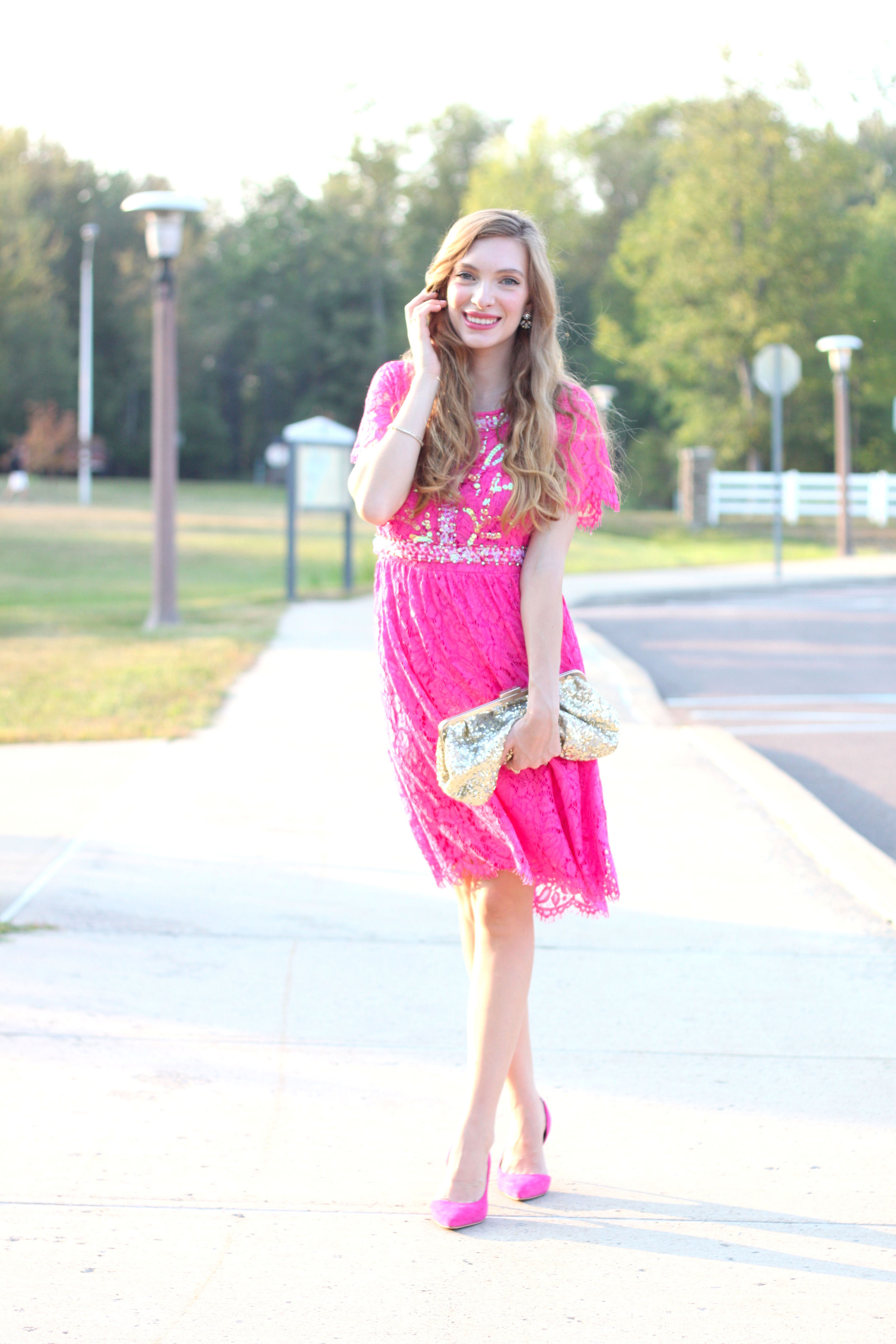 Hot Pink-Enchanting Elegance