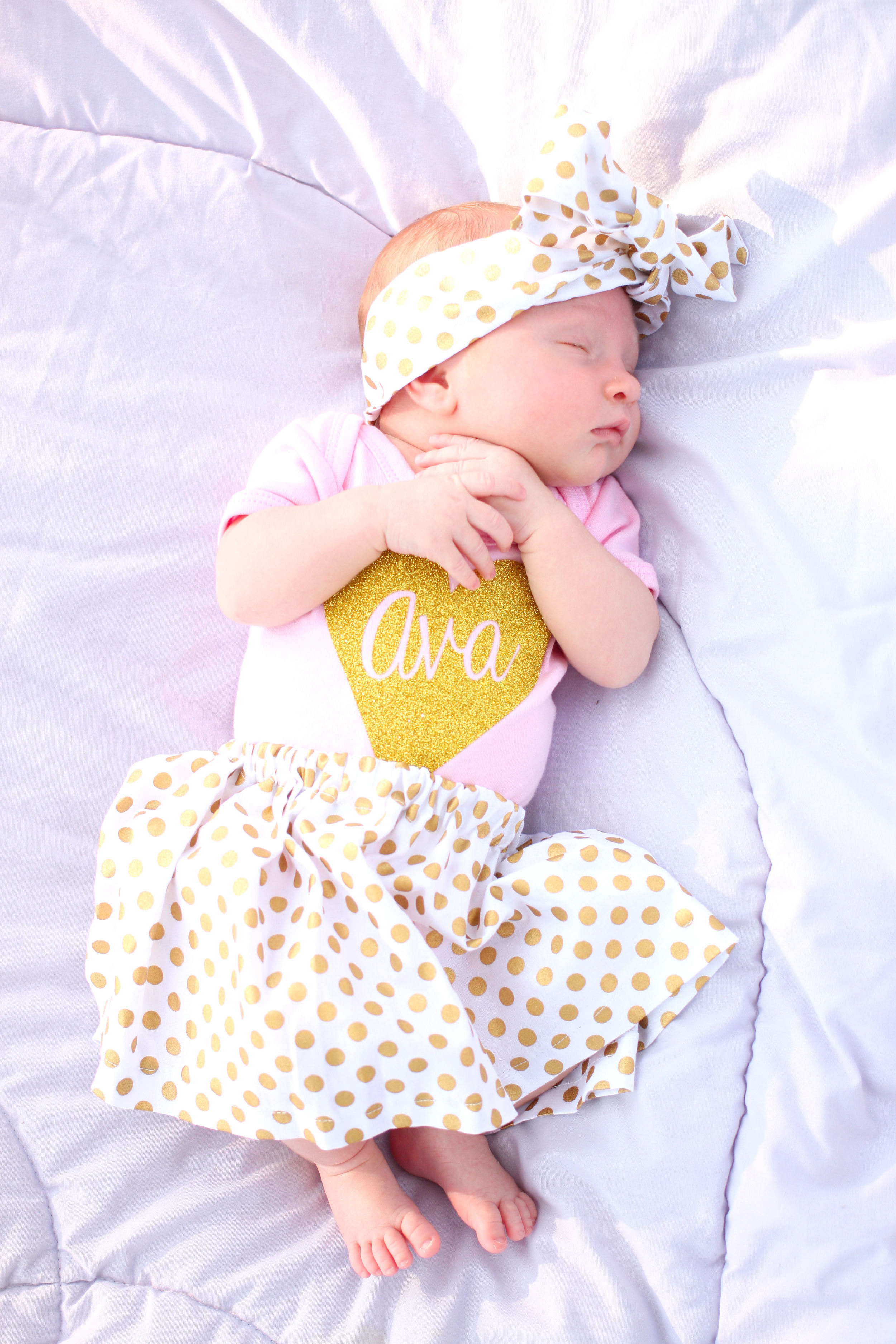 All That Glitters Baby- Enchanting Elegance