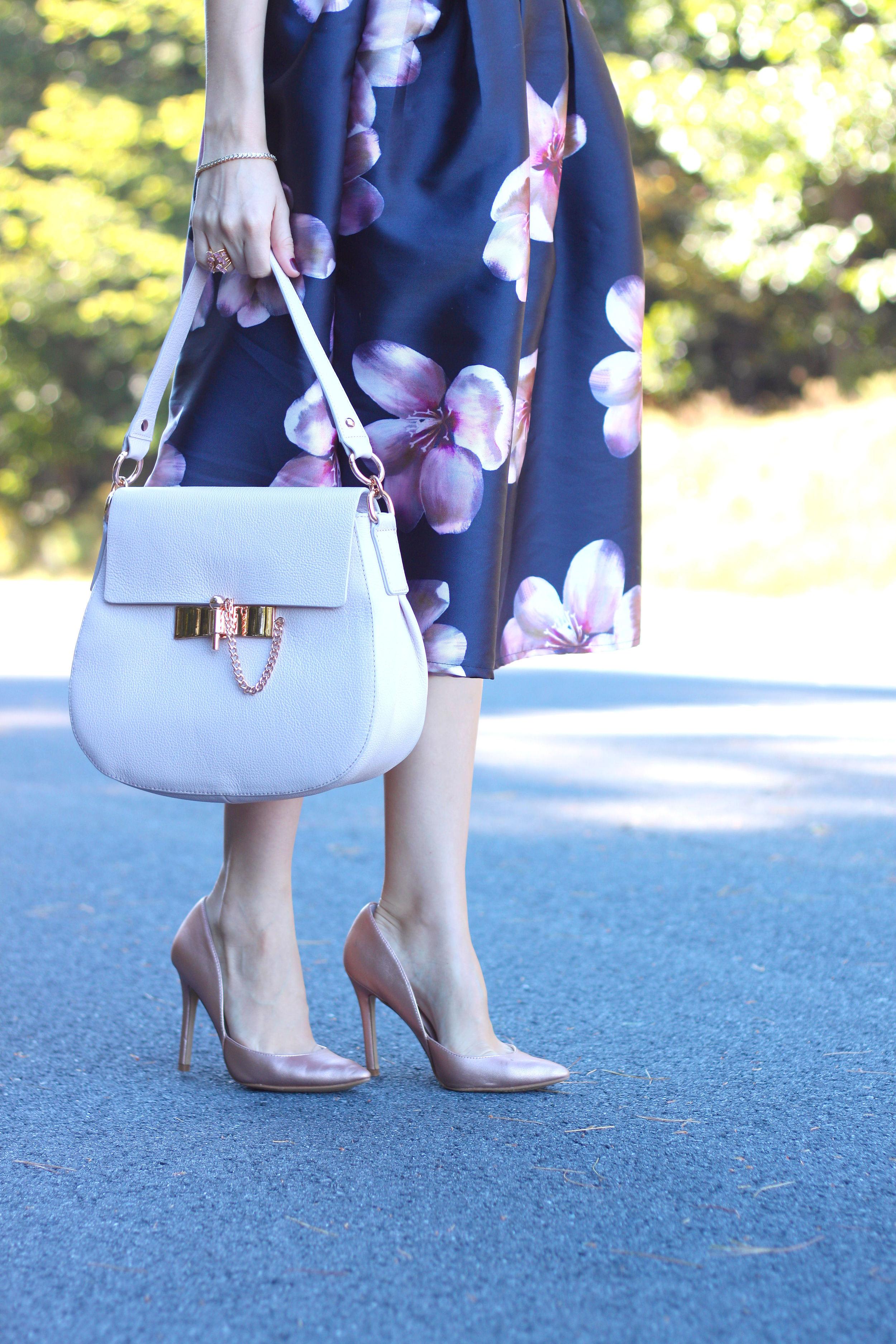 Midi Skirt- Enchanting Elegance