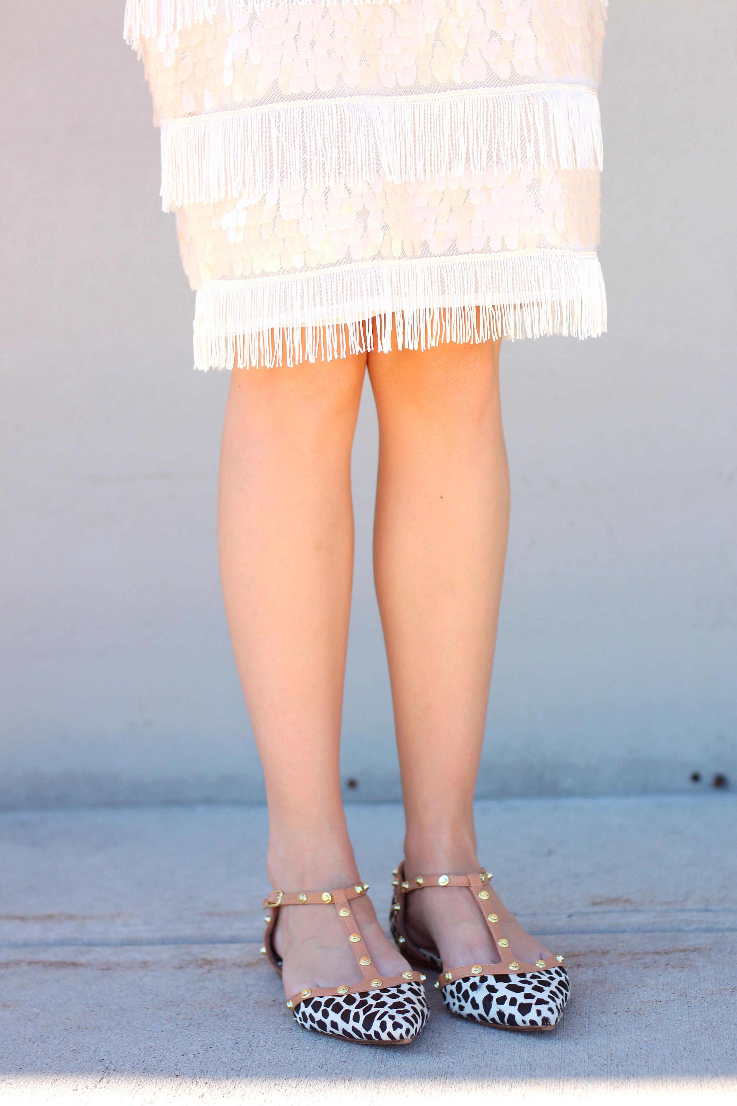 Fringe Skirt- Enchanting Elegance
