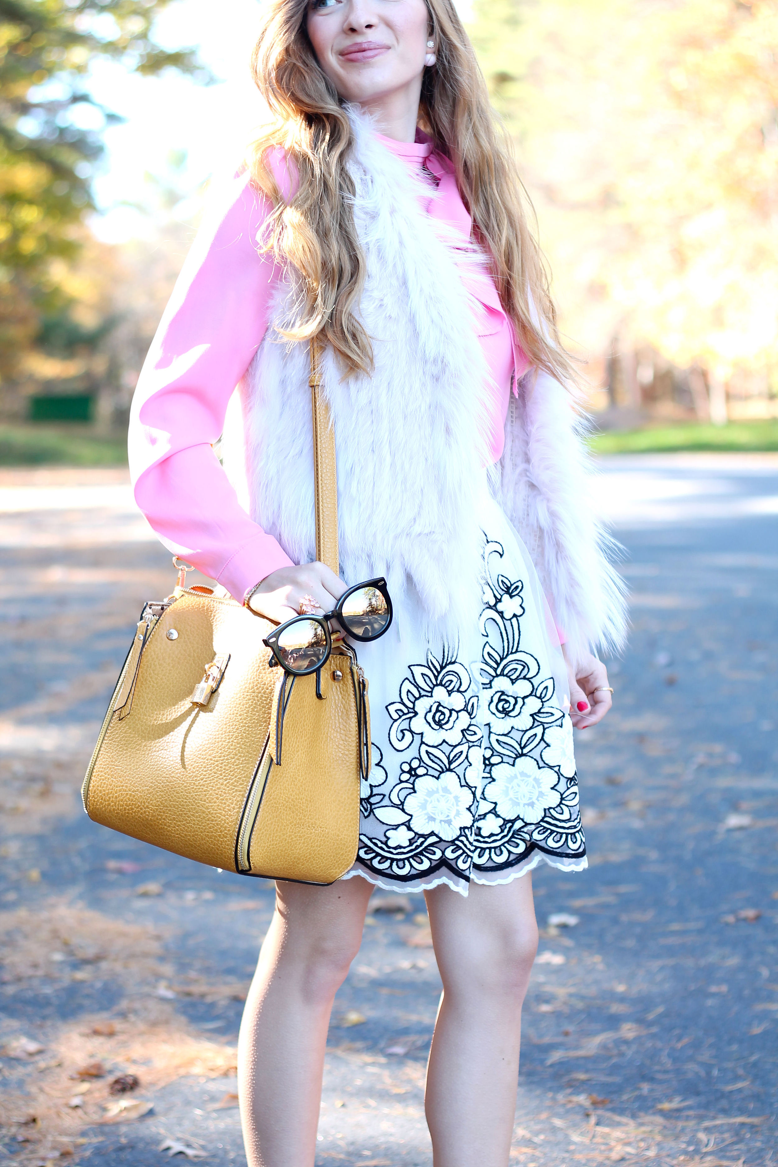 Floral Tulle- Enchanting Elegance