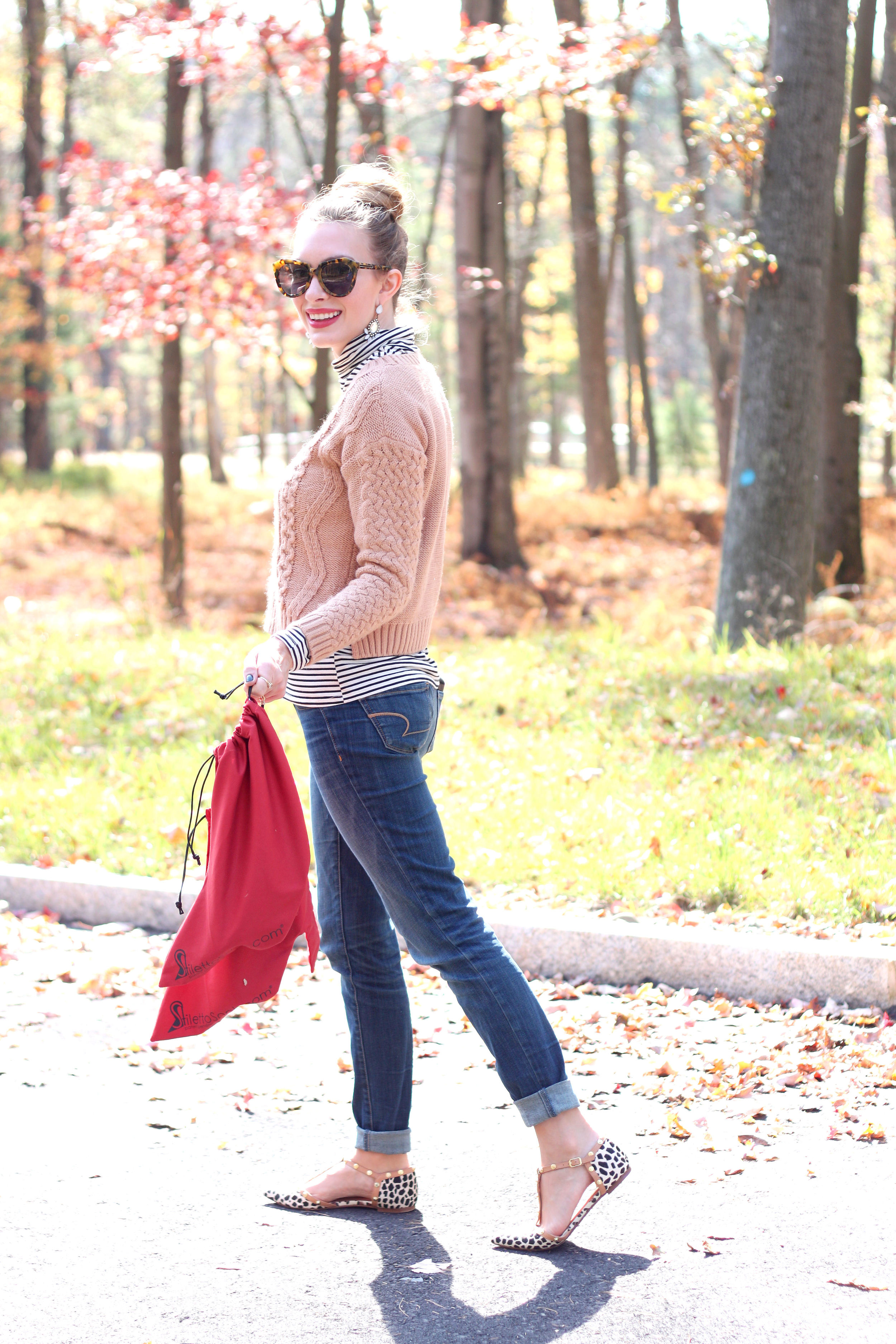 Stiletto Sock- Enchanting Elegance