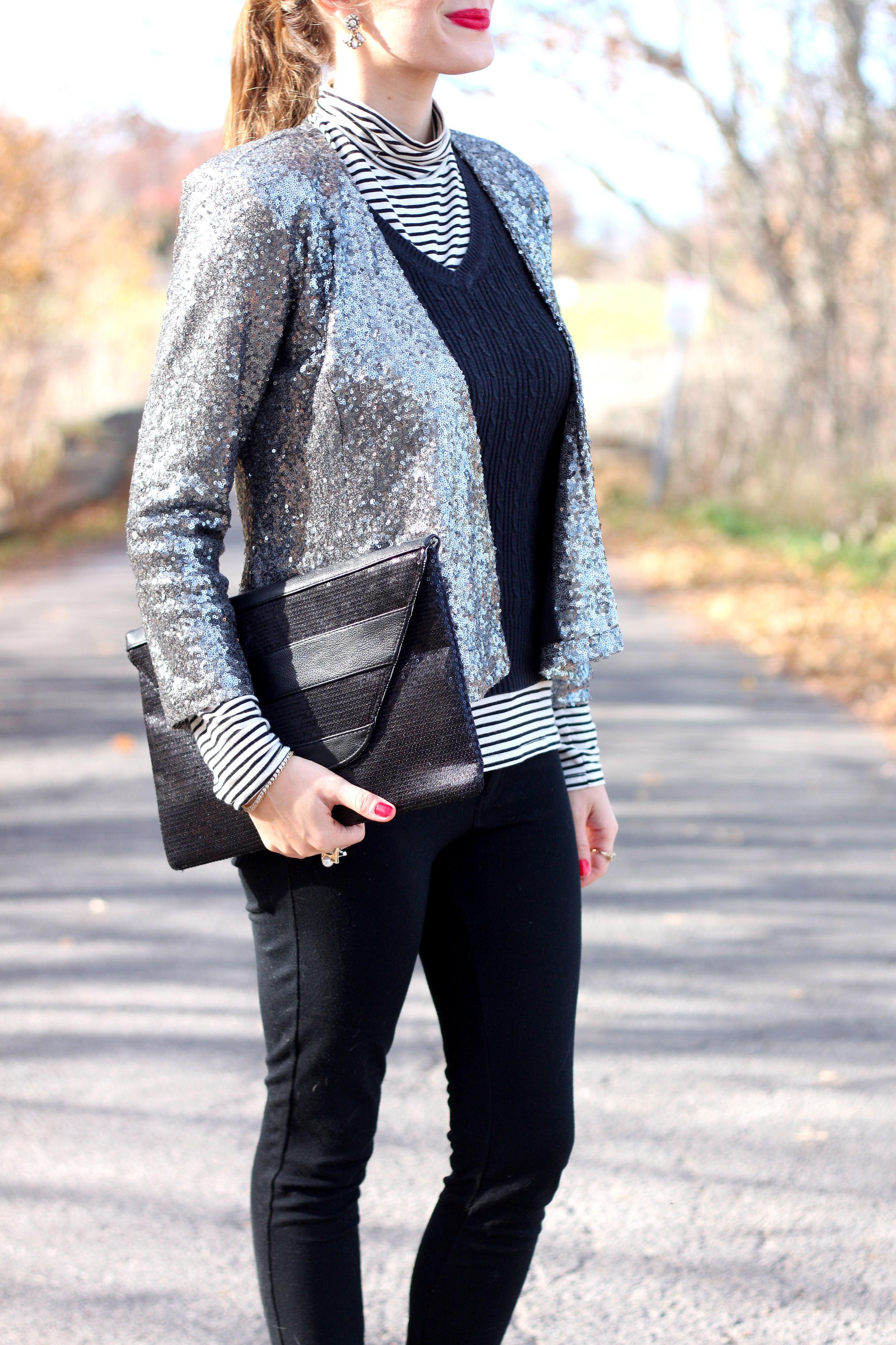 Sequin Jacket-Enchanting Elegance