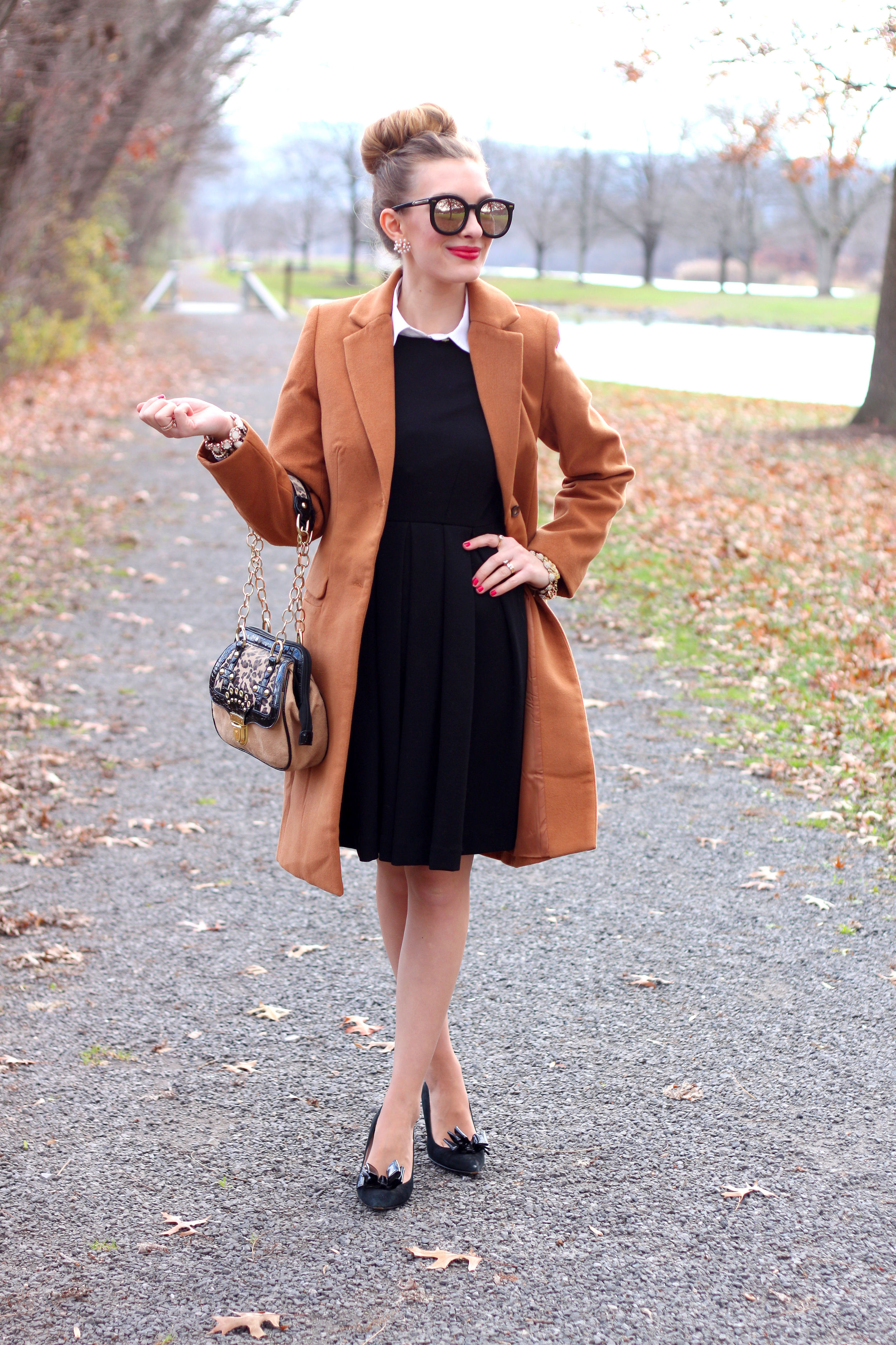 Brown Coat- Enchanting Elegance