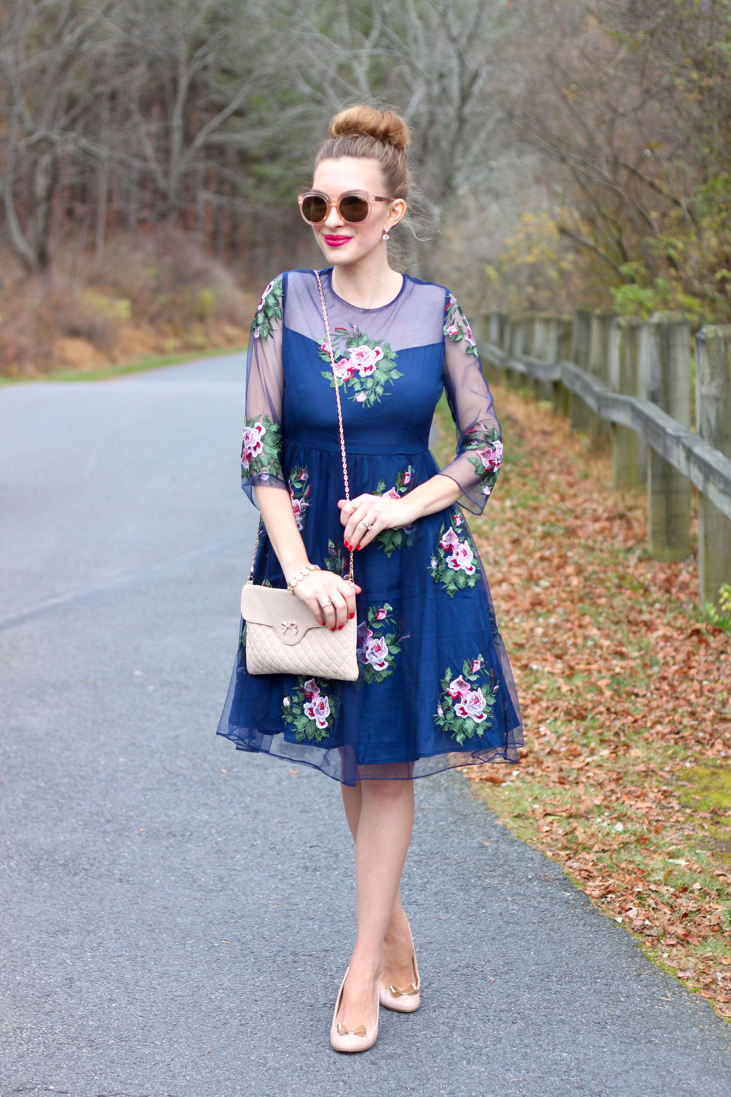 Rose Gold with Florals- Enchanting Elegance