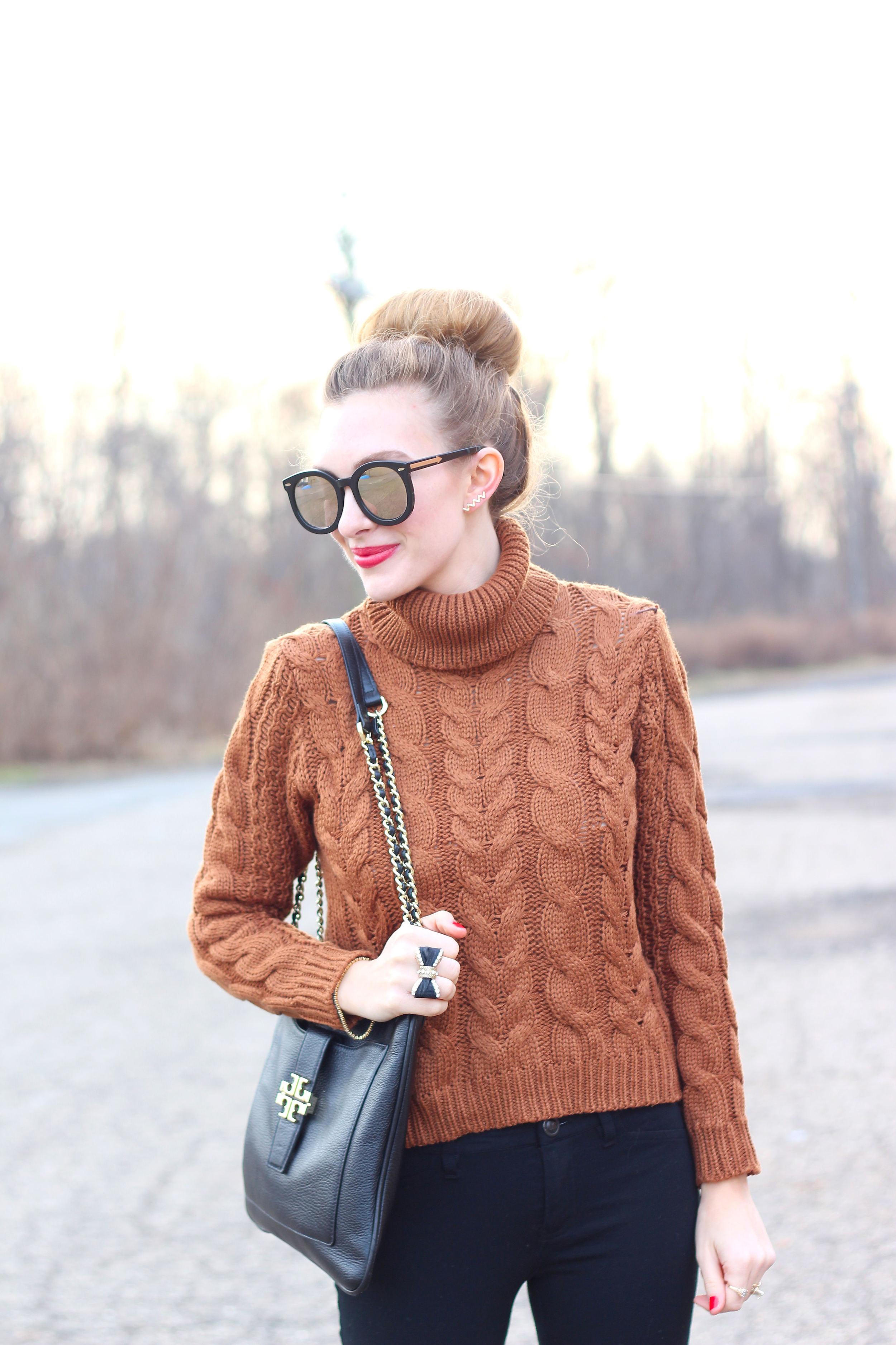 Khacki Sweater- Enchanting Elegance