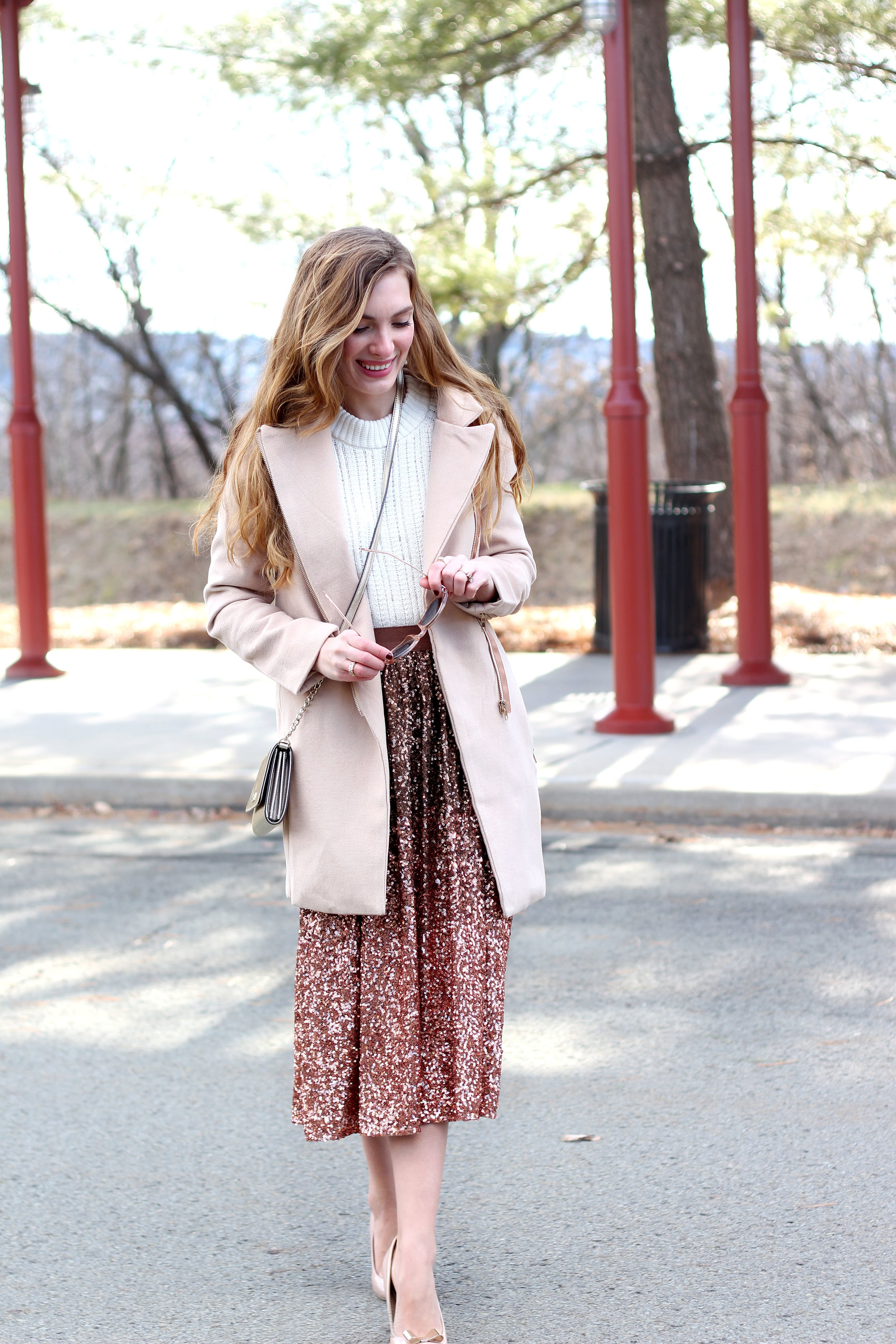 Sequin Skirt- Enchanting Elegance