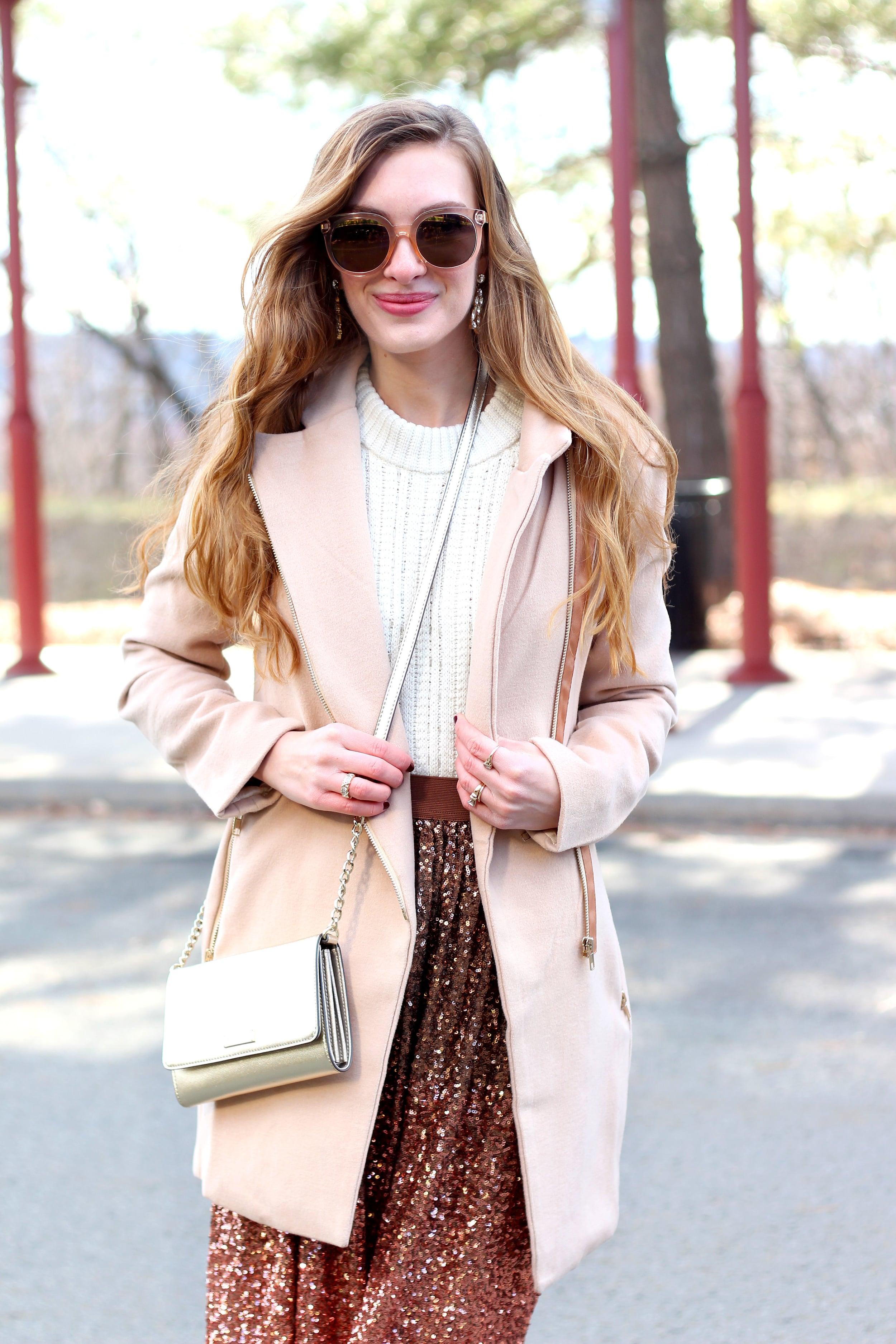Sequin Skirt- Enchanting EleganceSequin Skirt- Enchanting Elegance