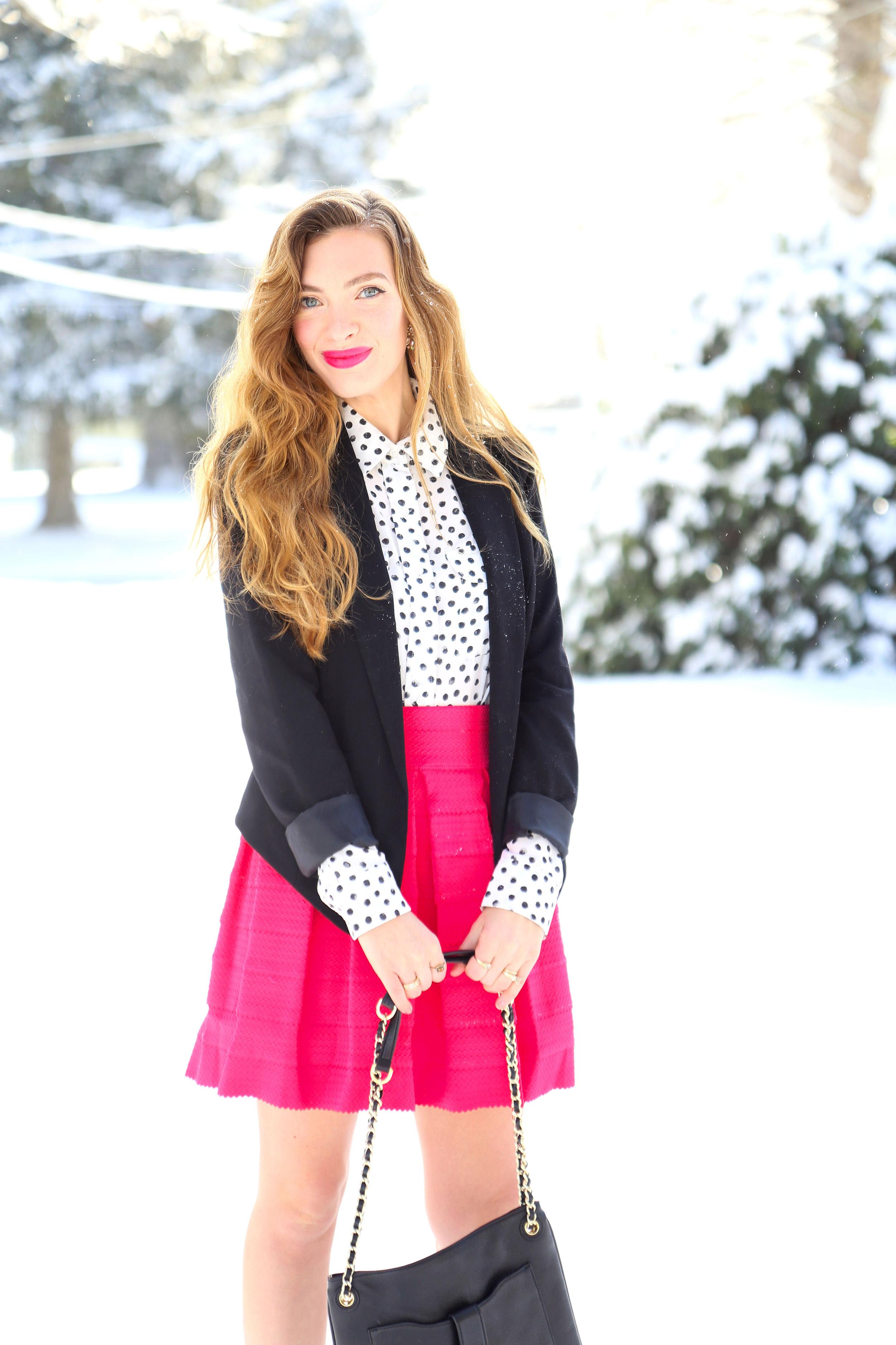 Polka Dots // Pink - Enchanting Elegance