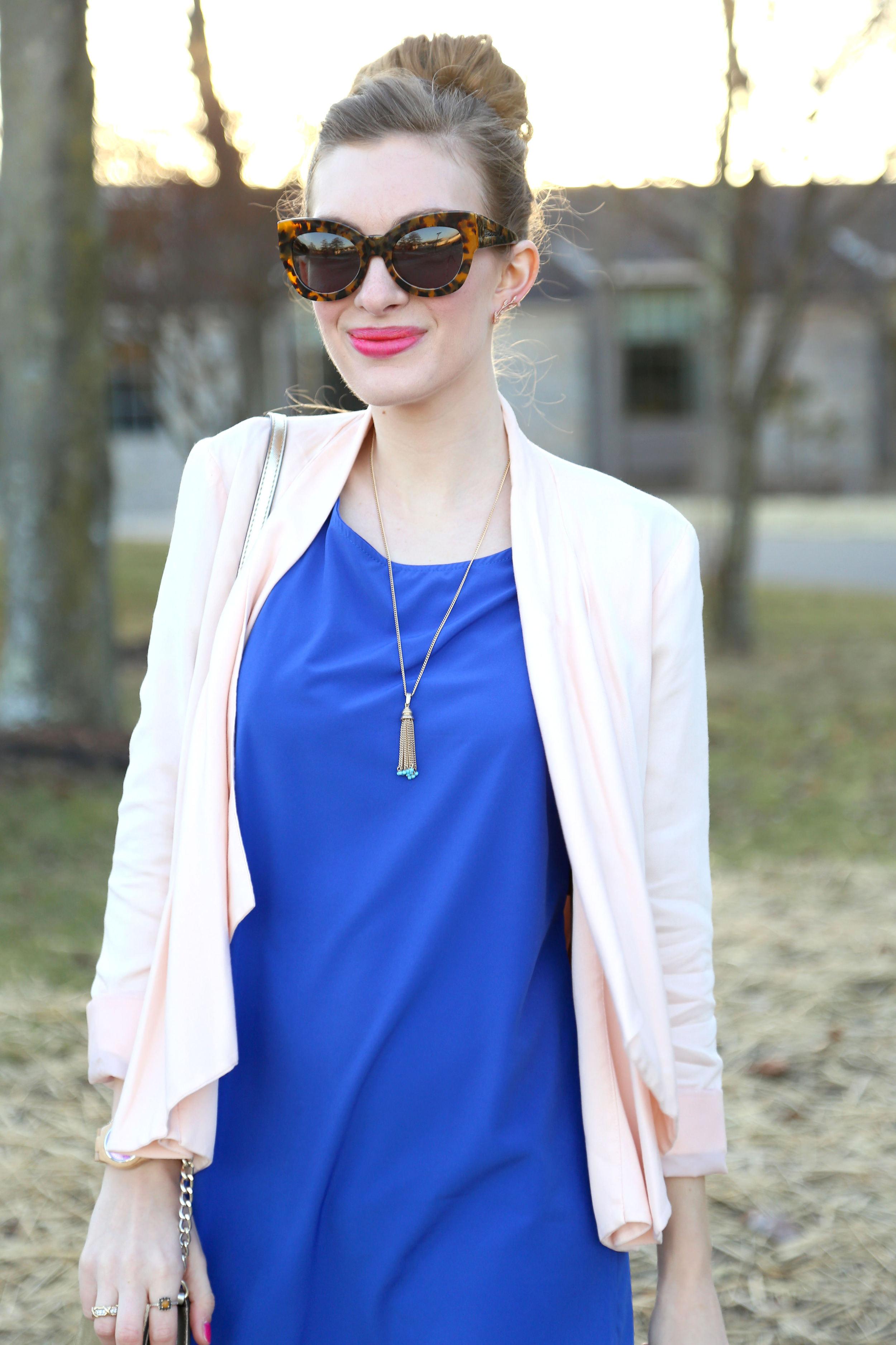 Blue Dress- Enchanting Elegance